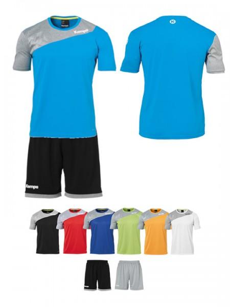 Herren und Kids Shirt und Shorts von Kempa 2farbig