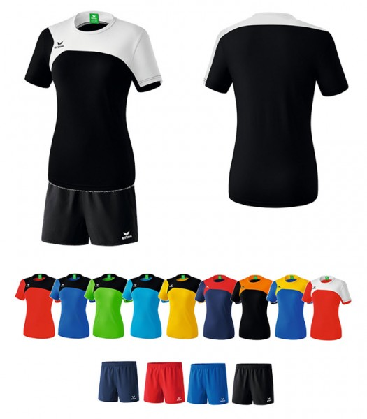 Set: Shirt & Shorts Erima Club Women